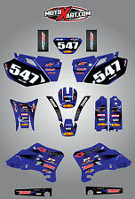 Yamaha WRF 250 450  2003-2006 Barbed style full graphics kit / stickers / decals