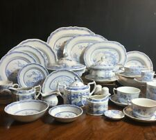 Furnivals Ltd England Quail Blue Dishes Various Items Dinnerware & Serving Piece