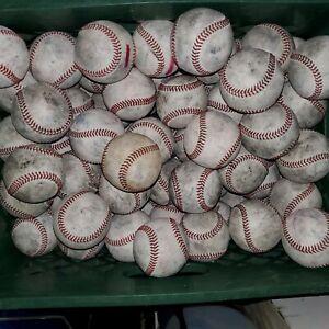 (20) Minor League Used Baseballs for batting practice Rawlings