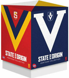 AFL State of Origin (Heritage Collection)  10  DISCS REGION 4 LIKE  NEW