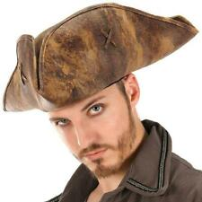 Jack Sparrow Hat Pirates Caribbean Dead Men Halloween Adult Costume Accessory