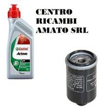 KIT TAGLIANDO FILTRO OLIO+1 LT CASTROL APRILIA SR MAX 125 2013 13