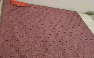 """Set of (4) Opalhouse Placemats  Purple Swiss Dot 19"""" x 14"""""""
