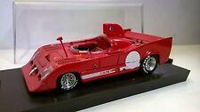 BRUMM 1:43 AUTO DIE CAST ALFA ROMEO 33TT 12 PROTOTIPO 1974 ROSSO ART R237 $