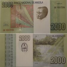 Angola  2000 Kwanzas 2012(2017)  P - 157  UNC