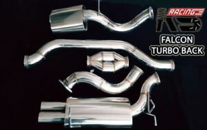"""KS Racing 4"""" Turbo Back FULL EXHAUST System FOR XR6 XR6T FORD BA/BF Falcon"""