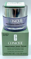 Clinique Repairwear Laser Focus Wrinkle Correcting Eye Cream 1oz New Boxed
