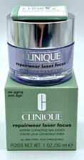 Clinique Repairwear Laser Focus Wrinkle Correcting Eye Cream 1oz New Boxed