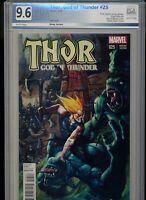 THOR GOD OF THUNDER #25 Bisley Variant (2014) 1st Jane Foster Thor PGX 9.6! WOW