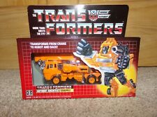 GRAPPLE MISB TAPE SEALED VINTAGE G1 VINTAGE TRANSFORMERS