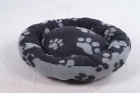 Trixie 37691 Sammy Kuschelbett 50cm schwarz grau Katze Hund Bett Korb Stoff