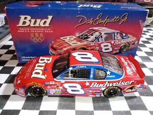 2000 Dale Earnhardt Jr #8 Bud Olympic 1/24 RCCA Clear Window Bank