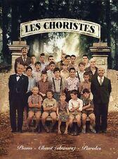 Les Choristes Piano Chant Choeurs Et Paroles Learn to Sing Choral Music Book