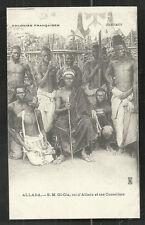 Dahomey Benin Gi-Gia King of Allada Africa ca 1899