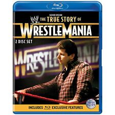 Official WWE The True Story Of Wrestlemania  (2 Disc)  Blu-ray (Pre-Owned)