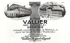 PUBLICITE   GANTS VALLIER GRENOBLE  MODE FASHION  GLOVES  AD  1931