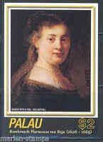 PALAU 400th BIRTH ANNIVERSARY OF REMBRANDT SOUVENIR SHEET MINT NEVER HINGED