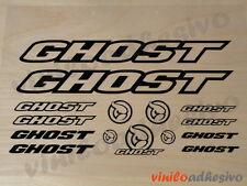 PEGATINA STICKER VINILO Ghost kit bicicleta bike aufkleber autocollant