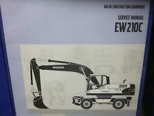 Volvo EW210C Wheeled Excavator Service Manual