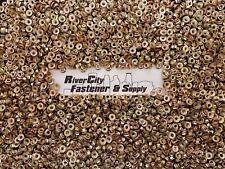 (50) Metric Serrated Flange M6-1.0 Hex Nuts Yellow Zinc grade 10.9 Qty:50