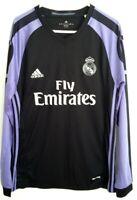 Real Madrid Adidas Climacool Genuine Long Sleeve Jersey Size XXL -like new
