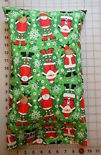 Santa Claus Reindeer Snowman Small Pillow Case with Travel / Toddler Pillow