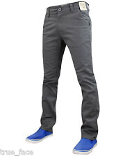 New Mens Jacksouth Designer Skinny fit Stretch Chino Straight Leg Trousers Pants