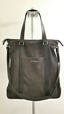 ARMANI EXCHANGE UNISEX SUEDE TOTE BAG