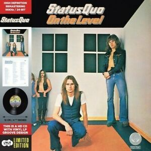Status Quo On the Level 5 Extra Tracks Remastered Card Sleeve HDCD NEW