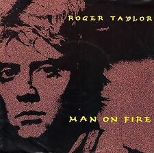 "7"" Roger Taylor (Queen) - MAN ON FIRE // Germany 1984"