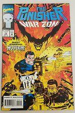 """Punisher War Zone #19 """" Wolverine"""" Nm-Mint Unread"""