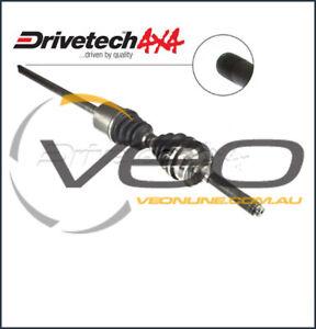 HOLDEN RODEO TF 3.2L 4WD 1/98-2/03 DRIVETECH 4X4 LEFT DRIVESHAFT ASSEMBLY