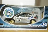 Peugeot 206 WRC Tour de Corse 2000 Gronholm - Solido 1:18