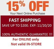 (x1) Home depot 15% Off Coupon Save up to $200 Not valid in-store Fast Ship
