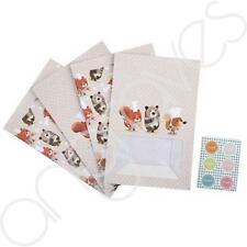 Set of 4 Bobby Bear Treat Bags & Stickers Sweets Cakes Gift Bag