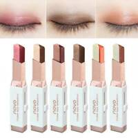 Eye Shadow Stick Double Color Gradient Eyes Makeup Shimmer Eyeshadow Pen