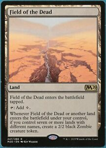 Field of the Dead Core Set 2020 / M20 NM Land Rare CARD (218536) ABUGames