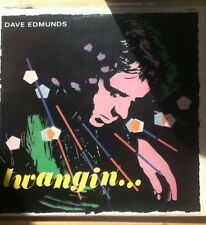 DAVE EDMUNDS - Twangin... [UK 1981 Swan Song LP/Inner-NEAR MINT]