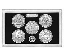 2020 America The Beautiful National Parks Quarter SILVER Proof Set w/o box/COA