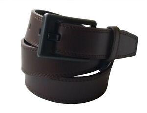 Leather Metal-free Belt: Airport friendly: Nickel free: Antiallergic: TSA Travel