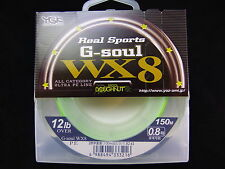 YGK - Real Sports G-SOUL WX8 150m 12lb OVER #0.8