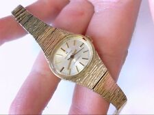 Vintage Ladies Hamilton Electric Swiss 10 K GF Oval Wrist Watch.  NEEDS TLC!!