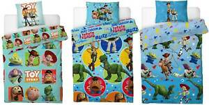 Disney Toy Story 4 Duvet Cover Bedding Set Reversible Single With Pillow Case