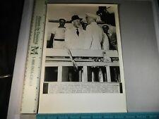 Rare Historical Original VTG 1943 Georges Robert Reaches San Juan PR WWII Photo