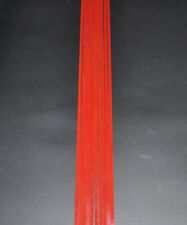 10Pcs Luthier Purfling Binding inlay Guitar Builder Celluloid Strip Solid Red