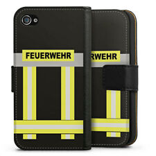 Apple iPhone 4 bolso funda flip case-bomberos