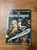 The Silver Surfer (1978) - GRAPHIC NOVEL - LEE/KIRBY  /  ONE OWNER COPY ****