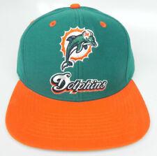 9ae0cf6e07271 Miami Dolphins Nfl Gorra Retro Vintage 2-Tone Gorra Sombrero Nuevo!  Azul Naranja