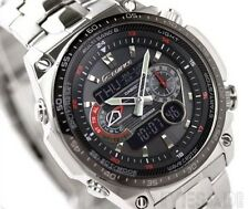 Men's Casio Edifice ECW-M300EDB-1A Alarm Analog & Digital Quartz (Solar Powered)