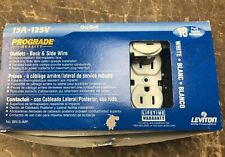 RECEPTACLE Leviton 15A-125v Lot Of 8